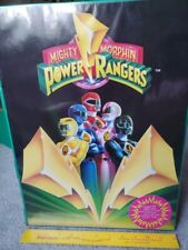 Mighty Morphin Power Rangers Character Carrying Case Saban 1994 W/ Power Caps