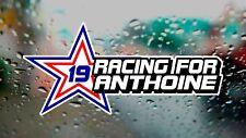Racing para 19 Anthoine Hubert F1 F2 Fórmula uno Drift Car Ventana Pegatina De Vinilo