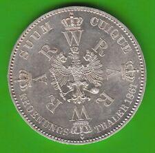Preußen Krönungstaler 1861 fast Stempelglanz toll erhalten nswleipzig