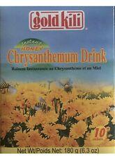 Gold Kili Honey Chrysanthemum Drink 10 bags 180 Gram Box