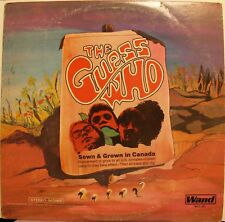 "The Guess Who ""Born In Canada"" LP Record 1969 Wand WDS 691 Very Good Cond!"