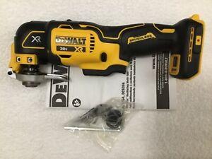 New Dewalt DCS356B 20V 20 Volt Max XR Brushless Cordless Oscillating Multi Tool