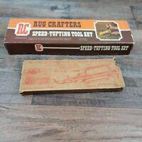 Vintage Rug Crafters Speed-tufting Tools