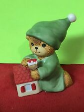 New ListingBeautiful Lucy & Me Painting Bear With Brush Lucy Rigg Enesco 1985 Adorable!