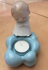 Nao By Lladro Little Angel (Candle Holder) #5086 Nib