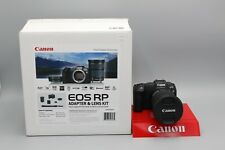 Canon Digital Camera EOS RP Body + Mount Adaptor EF-EOS R + EF 24-105mm Lens