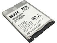 """MDD 500GB 5400RPM 64MB Cache SATA 6.0Gb/s Slim 7mm 2.5"""" Notebook Hard Drive"""