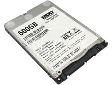 """New MDD 500GB 5400RPM 64MB Cache SATA 6.0Gb/s Slim 7mm 2.5"""" Notebook Hard Drive"""