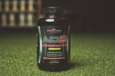 NO2 Strength | Nitric Oxide Amplifier | 180 Caps | All Natural And Safe