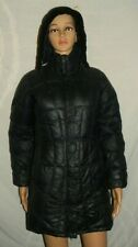 Mountain Hardwear Womens Black Puffer Down Fill Hooded parka Long Coat Size XS
