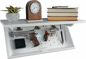 Hidden Safe Covert Storage Shelf Hidden Box Money Gun Jewelry Lock Home Security
