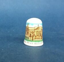 Caverswall Thimble - Prince William's Christening 4th August 1982