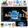 "Android 8.1 Car Stereo GPS Navi Radio MP5 Player 7"" Double 2Din WiFi Quad Core"