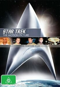 STAR TREK (1): The Motion Picture DVD The Feature Film Remastered BRAND NEW R4