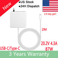 Laptop Charger For 90W USB-C AC Power Supply Adapter Type-C (APA93US) Macbook