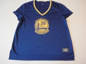 Woman Kevin Durant Golden State Warriors Fanatics NBA Jersey Women 2XL #35