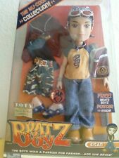 Bratz Boyz Boy Nu-Cool Eitan Doll Extra Outfit Poster Brown Hair Rare New