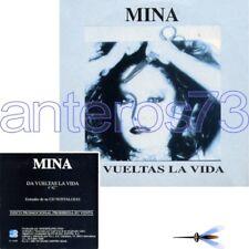 """MINA """"DA VUELTAS LA VIDA"""" RARO CDsingolo PROMO SPAGNA 1998"""