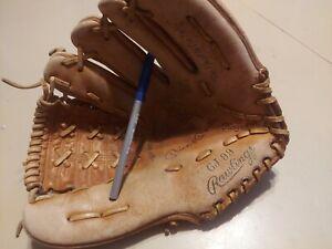 Vintage RAWLINGS MICKEY MANTLE  GJ 99 Baseball Glove Mitt Autograph Model LH