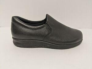 SAS Patriot Slip On Sneaker, Black, Women's 10 WW