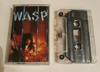 W.A.S.P. INSIDE THE ELECTRIC CIRCUS CASSETTE TAPE CAPITOL UK 1986
