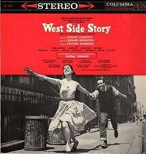 West Side Story Vinyl LP Columbia 1963, OS-2001, Original Cast Soundtrack ~ VG+