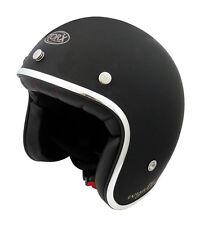 helmet casco helmet jet TORX WYATT matte black Size S 55 56 VINTAGE VESPA