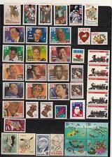 1994 US  COMMEMORATIVE YEAR SET MNH 75 STAMPS INCLUDES WW II SHEET