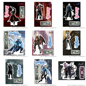 Japan Capcom STORE Devil May Cry Acrylic stand brand decoration