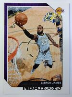 2018-19 Panini NBA Hoops Winter LeBron James #82, Los Angeles Lakers