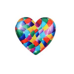 Magnetic Heart Shape Plastic Painting Locator Diamond Painting Tools (6)