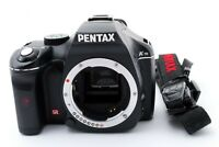 Pentax K-m SLR Digital Camera Black Body from Japan Excellent++ 【Free Shipping】