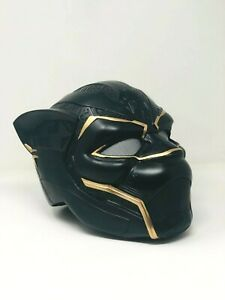 Black Panther Helmet Cosplay Resin Film Dress Up Mask Prop Replica Halloween