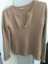 Women's CALYPSO Brown Cashmere Sweater Size S