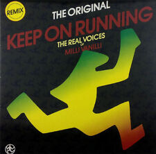 "Real Voices Of Milli Vanilli - Keep On Running (Remix) - 12"" Maxi - K907"