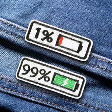 Aufbügeln Patch bestickt Applique Nähen Label Patches Kleidung AufkleberR.DENID