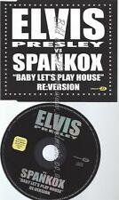 CD--PRESLEY,ELVIS VS.SPANKOX--BABY LETS PLAY HOUSE   SINGLE