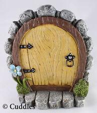 Fairy Garden Door Mini Figurine Ganz Outdoor Fantasy Plant Blue Flower NEW
