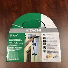Hitachi 115155 1/4in. x 50ft. Professional Grade Polyurethane Air Hose, Green