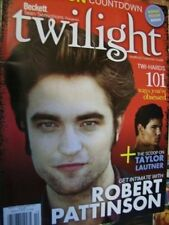 Twilight Unofficial Collectors Guide New Moon Countdown & Poster Pattinson, Laut