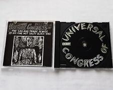 UNIVERSAL CONGRESS OF The sad and tragic... USA CD ENEMY(1991)Alternat funk jazz