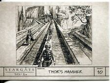 Stargate SG1 Season 9 Production Sketches Chase Card S9