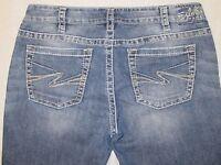 EUC Women's Silver Jeans Denim Pants Aiko Bootcut Stretch Fit Boot cut W 32/L 33