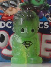 "OOSHIES Rare Item "" GREEN MULTI COLOURED SUPERMAN "" DC Comics Series 3 Collectio"