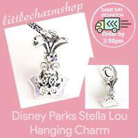 New Authentic PANDORA Disney Parks Stella Lou the Disney Rabbit Dangle Charm