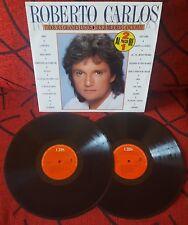 ROBERTO CARLOS ** Sus 20 Mejores Canciones ** SCARCE 1988 Spain 2-LP SET