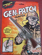 Galoob 1983 Gen Patch Gunpen MOC MIP NRFP Military Vintage Collectible Army Toy