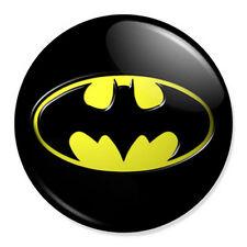 "Batman Logo 25mm 1"" Pin Badge Button DC Comics Superhero Classic"