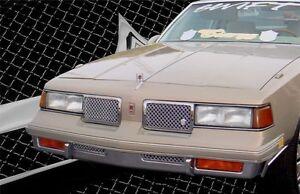 1987-1988 Olds Cutlass Supreme chrome mesh grille Euro Clip grill Tiarra