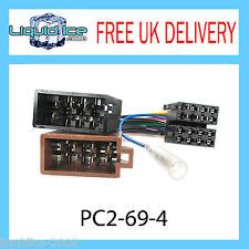PC2-69-4 Sedile IBIZA LEON TOLEDO unità di testa stereo Iso Adattatore Cablaggio Cablaggio Piombo